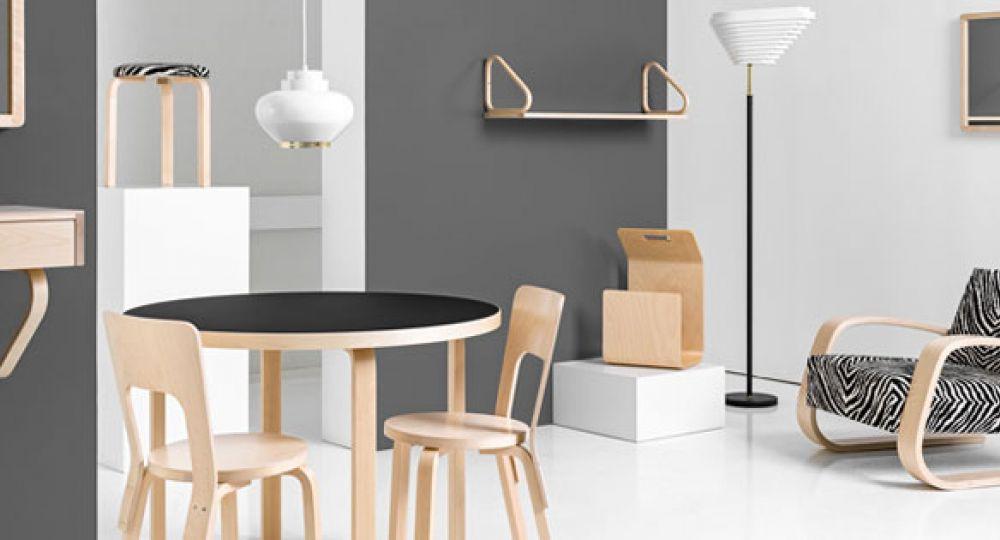 Artek revive los productos de Alvar Aalto para su nueva colección