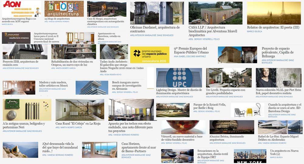 Las 20 noticias más leídas de Arquitecturayempresa en 2015