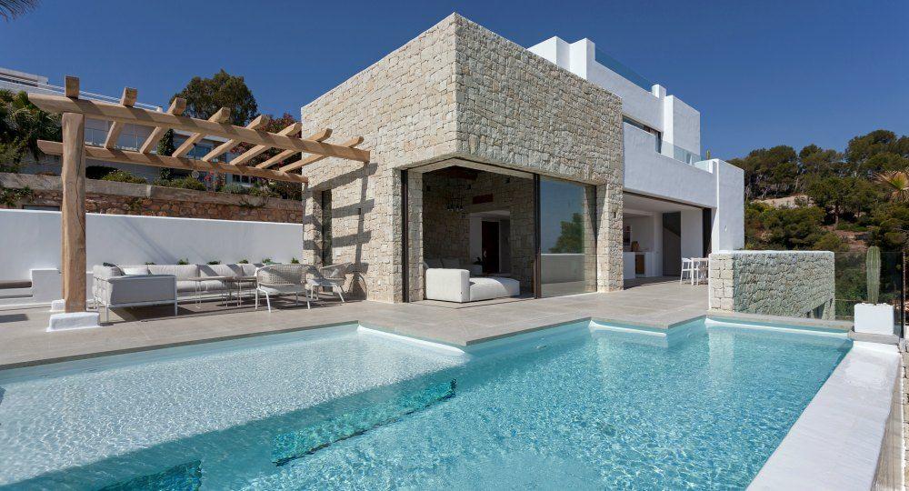 Casa Driessen. Diseño de tierra y mar