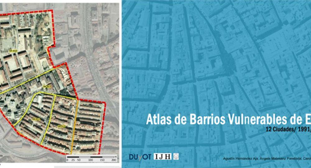 Atlas de Barrios Vulnerables de España: 12 Ciudades 1991/2001/ 2006