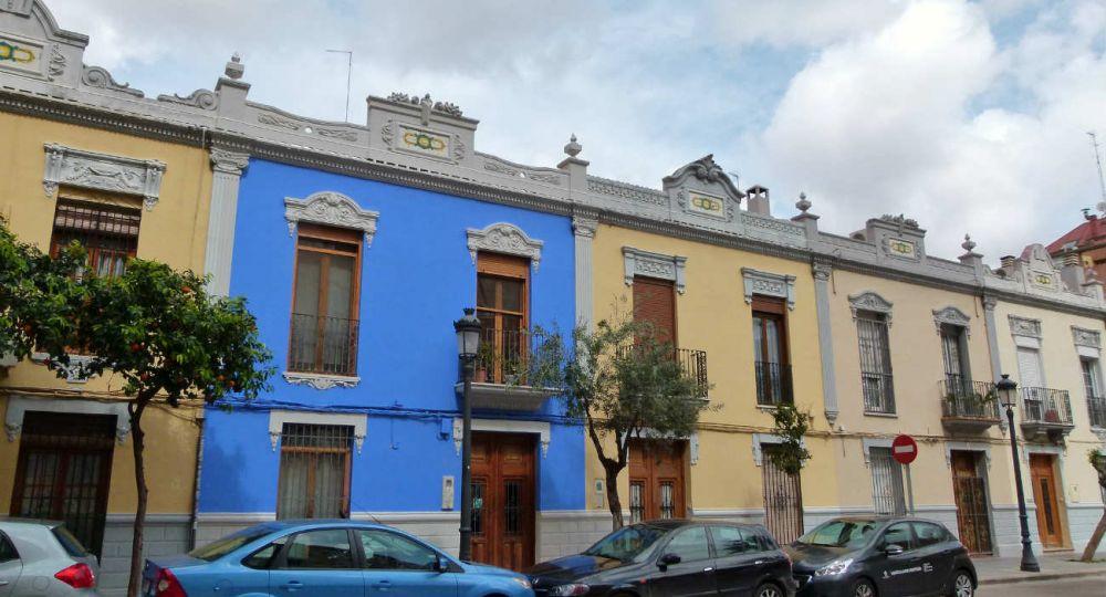 Barrio de la Aguja.Fundado en los años 30. Valencia