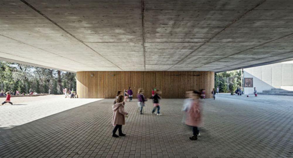 Batlle i Roig realizan la ampliación de la Escuela Thau de Sant Cugat del Vallès