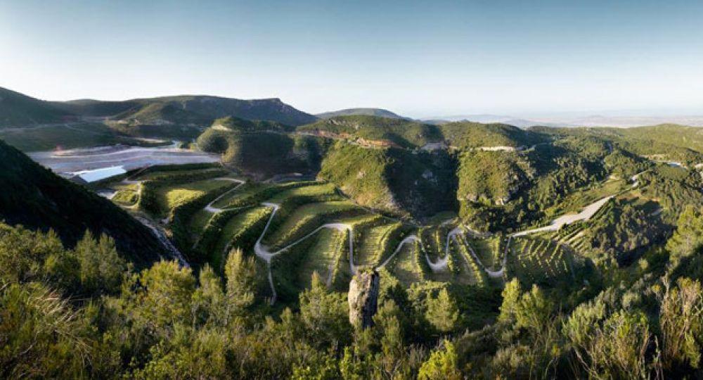 Recuperación paisajística del vertedero de residuos de la Vall d'en Joan. Batlle i Roig