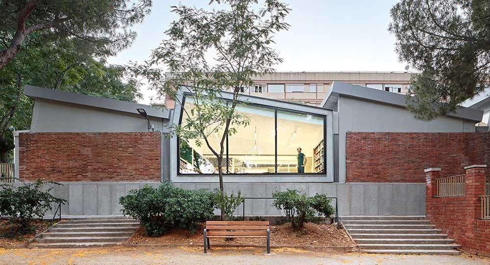 Rehabilitación y ampliación de la Biblioteca Montbau - Albert Pérez Baró