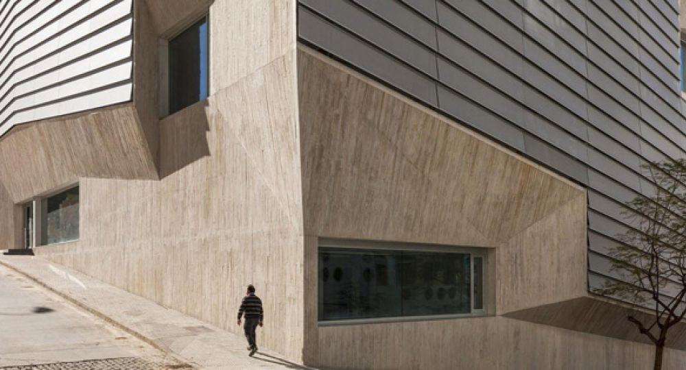 Biblioteca en Ceuta. Paredes y Pedrosa