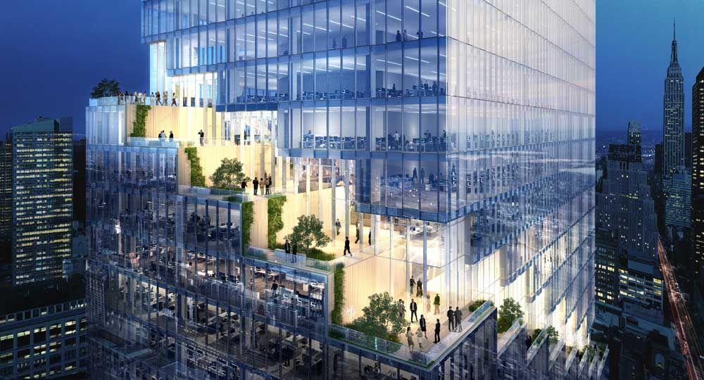 BIG presenta su diseño para la neoyorkina Spiral Tower