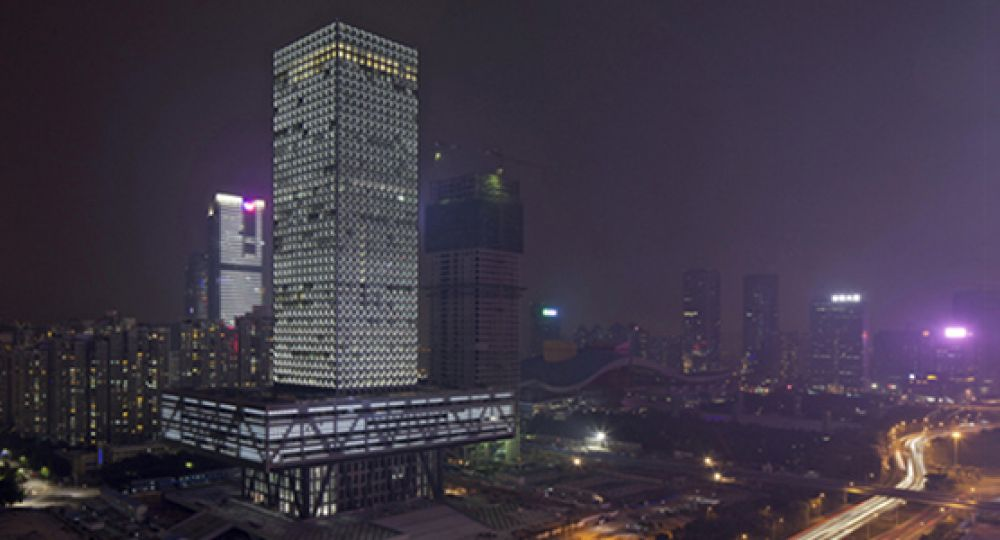 La bolsa de Shenzen de Rem Koolhaas