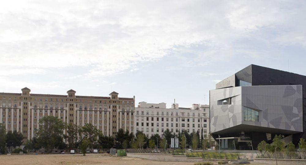 Vocaci n ic nica caixa forum zaragoza estudio carme for Estudios arquitectura zaragoza