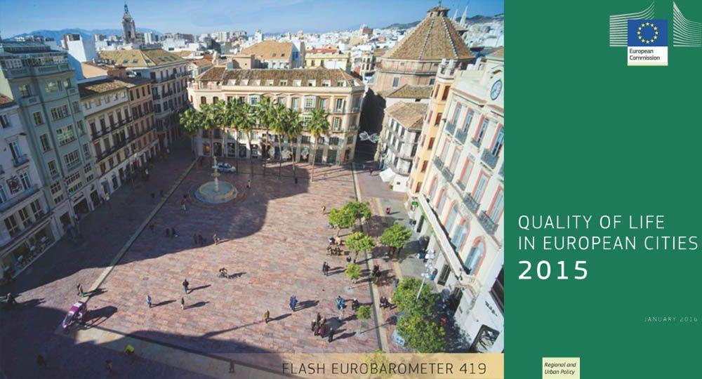 Percepción de la calidad de vida en las ciudades europeas. 2015