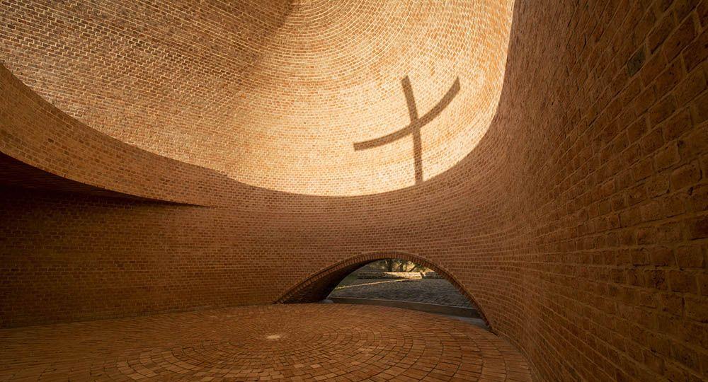 Capilla San Bernardo en Argentina, del arquitecto Nicolas Campodonico