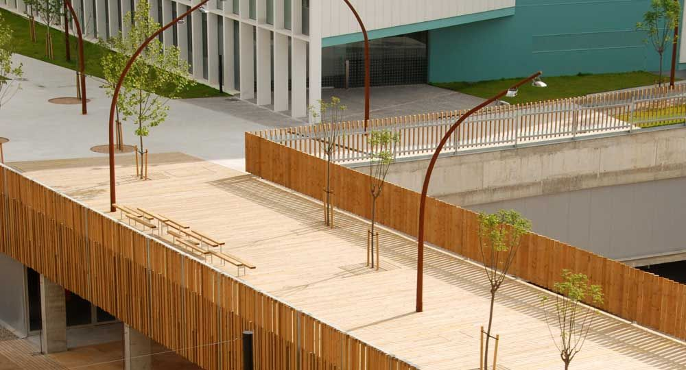 Campus universitario Diagonal-Besòs, UTE Espinàs i Tarrasó y Cáceres Arquitectes