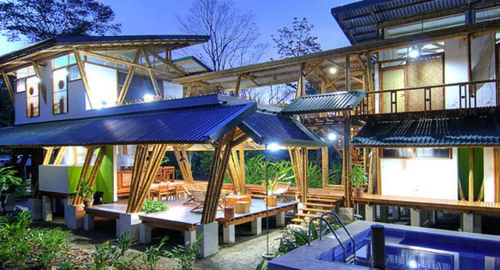 Estructura de bambú, Casa Atrevida