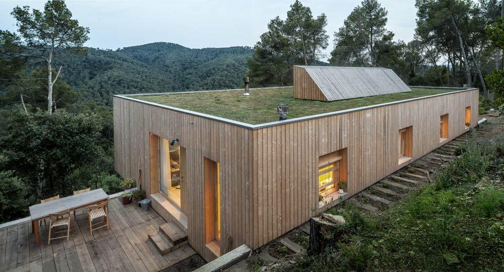 Casa llp arquitectura bioclim tica por alventosa morell Arquitectura y construccion de casas