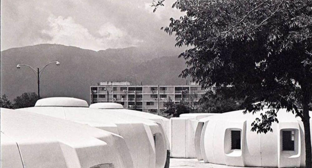 Casa Mara .Proyecto modular de los años 70