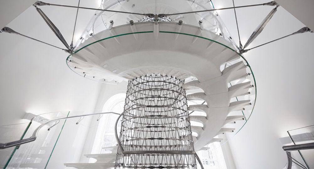 Eva Jiricna y el diseño de escaleras.