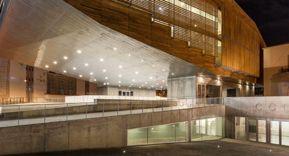 Centro Cultural en Castelo Branco, Josep Lluís Mateo.