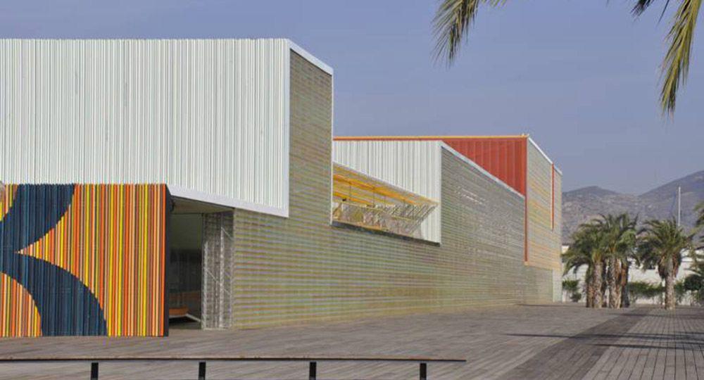 Centro de Congresos y Auditorio El Batel, Cartagena. Selgascano.