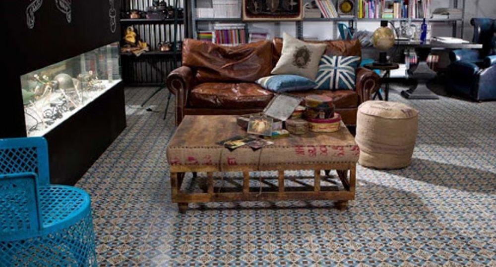 Pon un suelo decorado en tu hogar