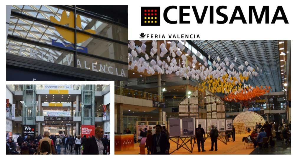 CEVISAMA 2016, feria de la cerámica en Valencia.
