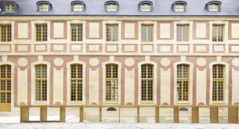 Restauración del Pavilion Dufour en el Chateau de Versailles, por Dominique Perrault