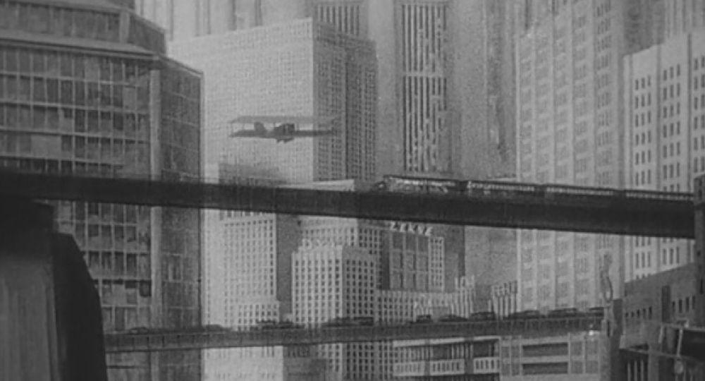 Paisajes urbanos en el cine.