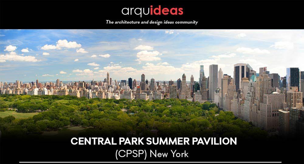 Concurso Central Park Summer Pavilion