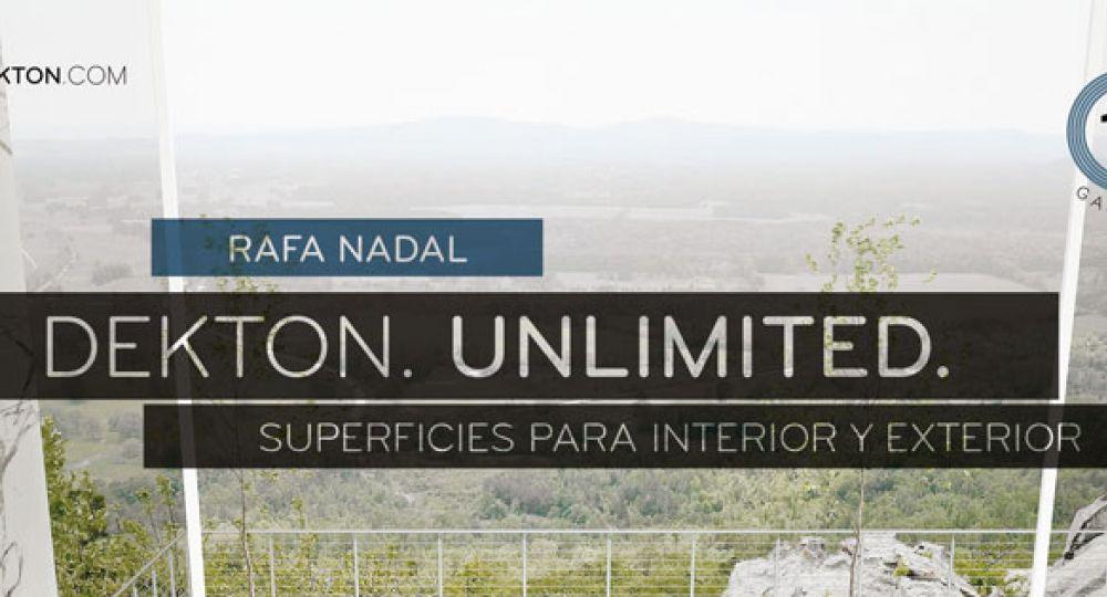 Rafa Nadal, imagen mundial de Dekton® by Cosentino