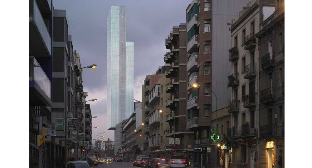 Hotel ME Barcelona, Dominique Perrault