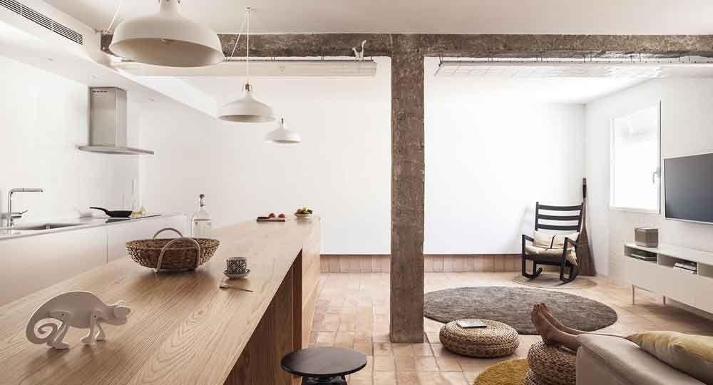 El Ático Vernáculo, arquitectura de interior por 'el fabricante de espheras'