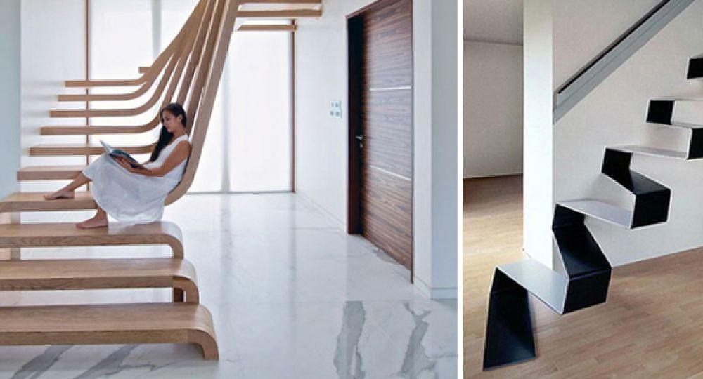 Las escaleras m s originales e innovadoras arquitectura for Tipos de escaleras arquitectura