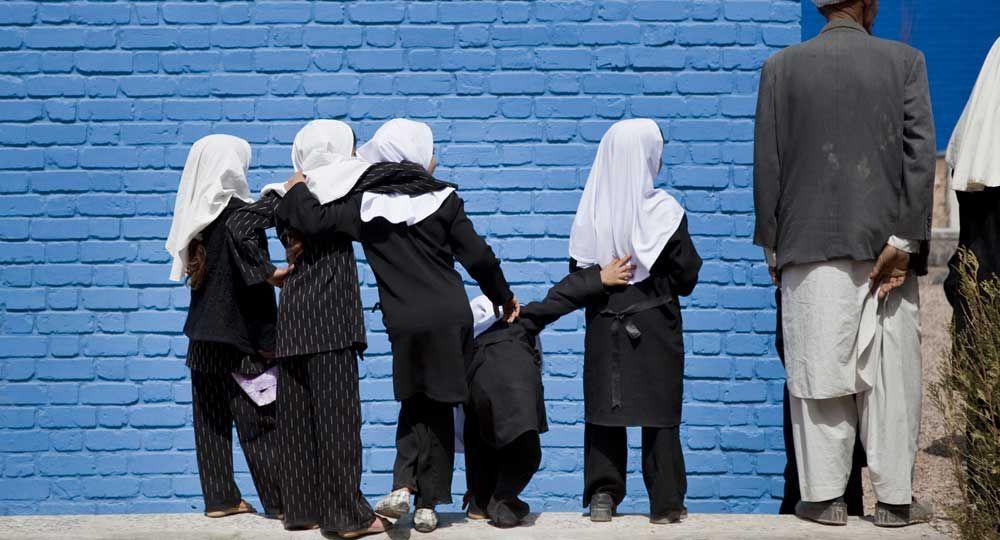 Escuela primaria Maria Grazia Cutuli en Afganistán