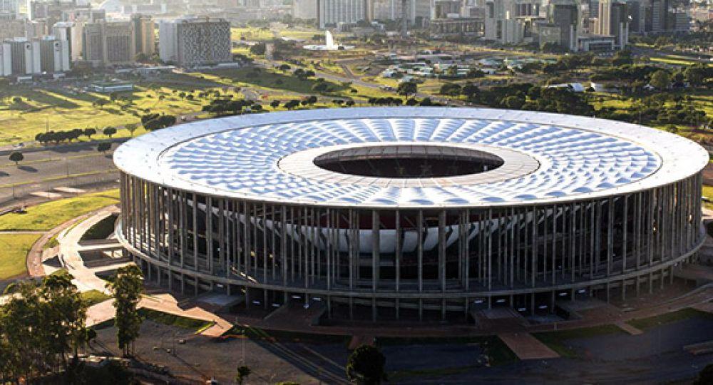 Estadio Nacional, sede del partido Brasil-Holanda por el 3er puesto