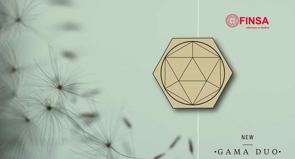 Finsa presenta su nueva colección Gama Duo 2016-2018 los próximos 26 y 27 de abril en Matadero Madrid