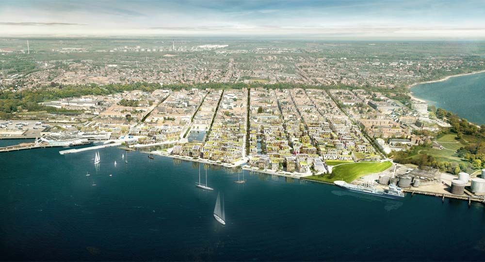 Fredericia (Dinamarca) y la regeneración marítimo-urbana.