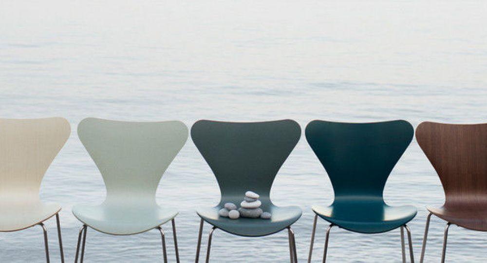 7 arquitectos reinterpretan la silla Series 7 de Arne Jacobsen