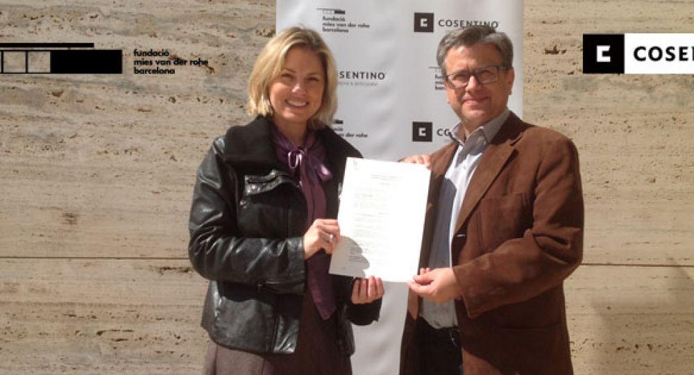 Grupo Cosentino colabora con la Fundación Mies van der Rohe