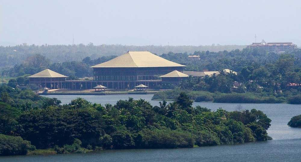 Geoffrey Bawa y el Parlamento de Sri Lanka