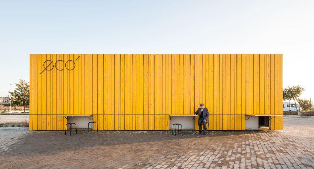 Bar Eco: Rehabilitación de una edificación abandonada, por el arquitecto Giuseppe Gurrieri