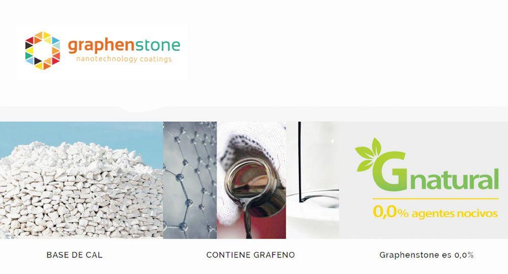 Graphenstone: revestimientos ecológicos, naturales y nanotecnológicos