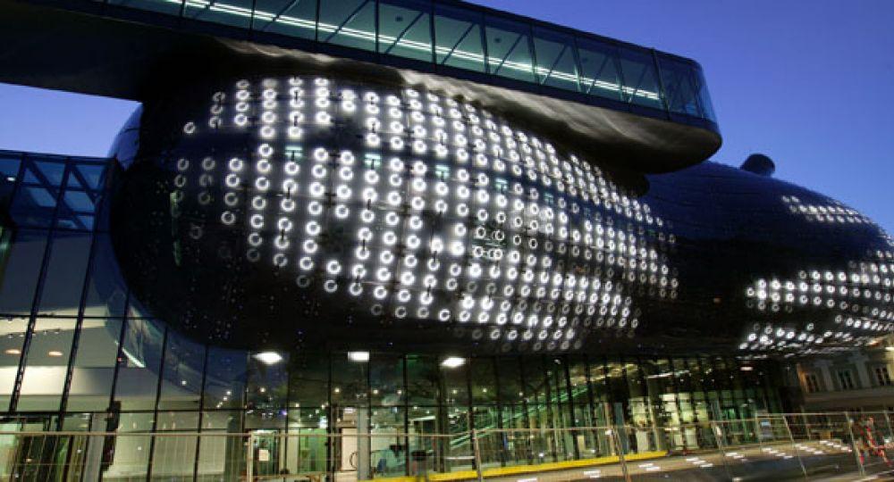 BIX sinergia entre arte, arquitectura y electrónica