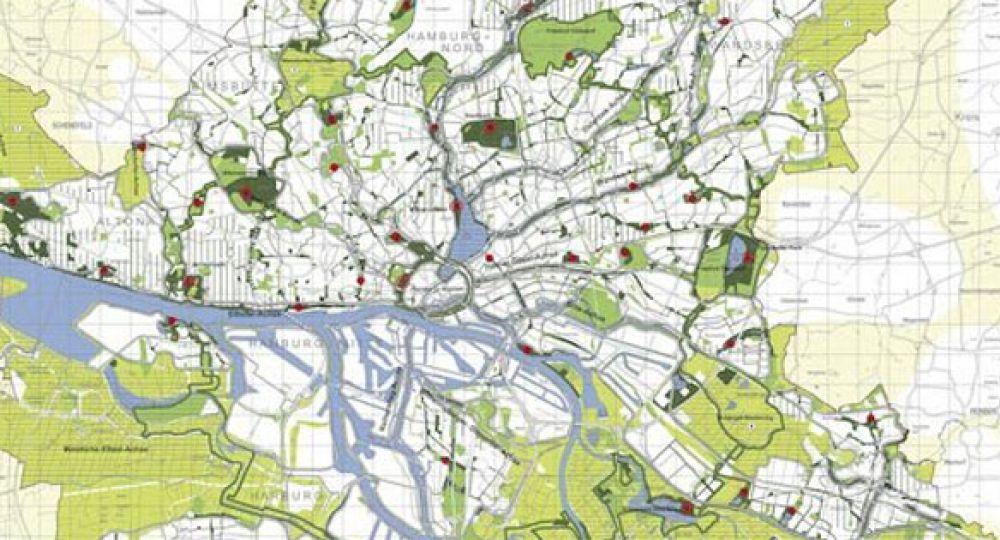 El Plan de Hamburgo para eliminar los coches en 20 años