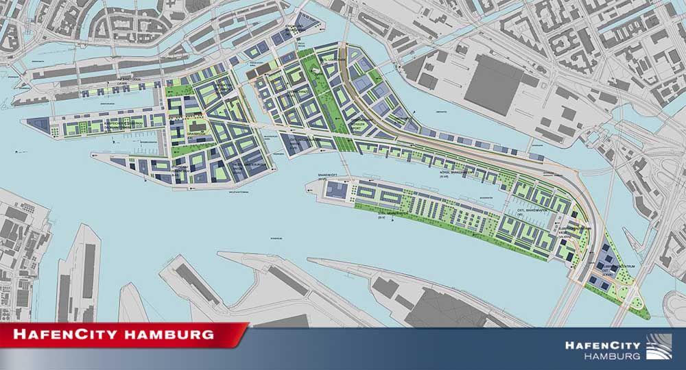 HafenCity o la regeneración del antiguo Puerto de Hamburgo