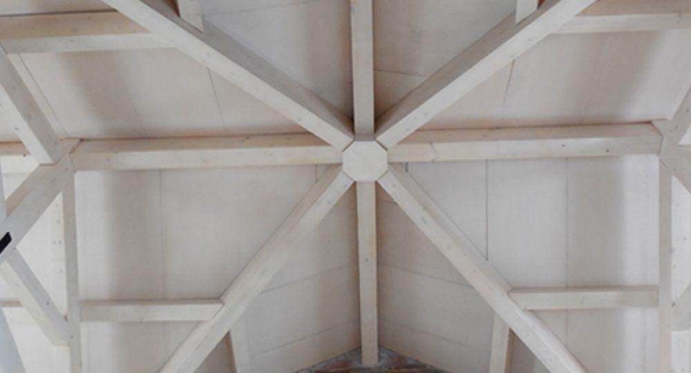 Panel sándwich de madera en rehabilitación de cubierta