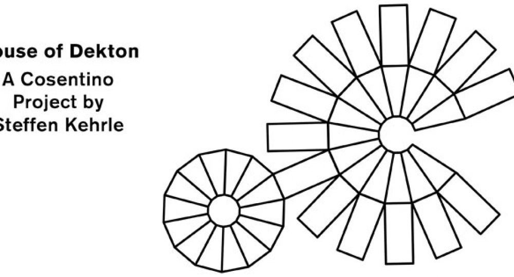 'House of Dekton' demuestra la experiencia impactante y versátil de los materiales diseñados por Cosentino