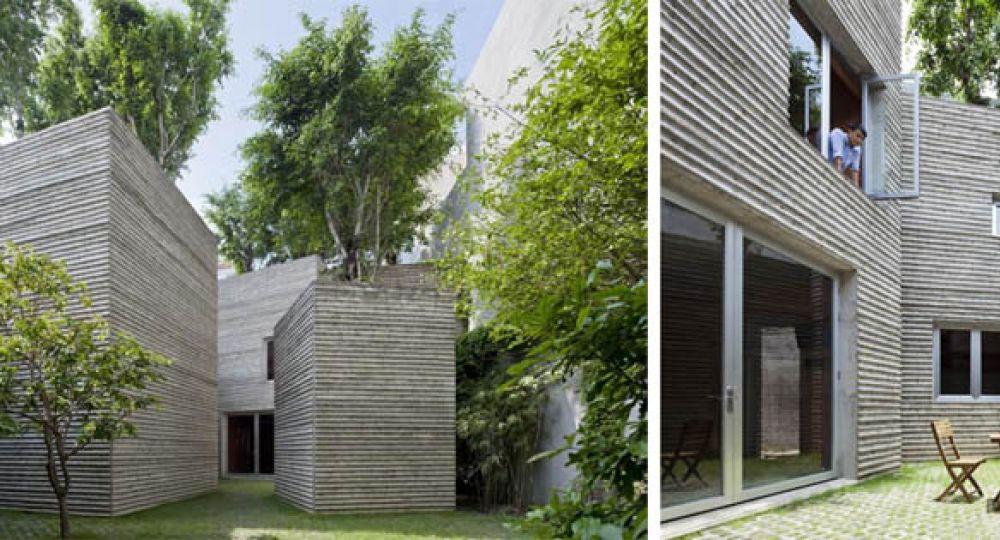 House of Trees de Vo Trong Nghia