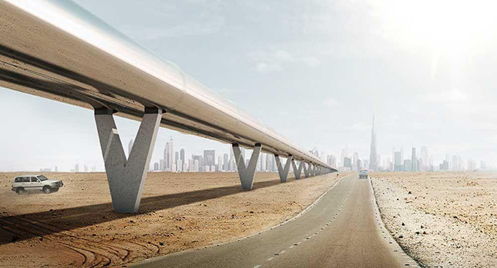 BIG architects: Hyperloop One, el transporte del futuro