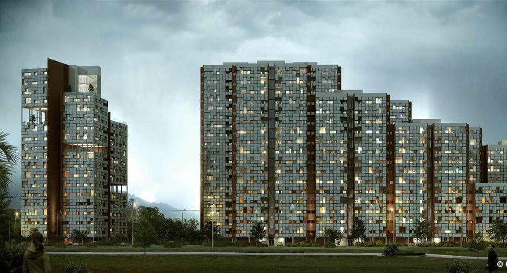 Complejo residencial ELA, Chennai, India. ABIBOO Architecture