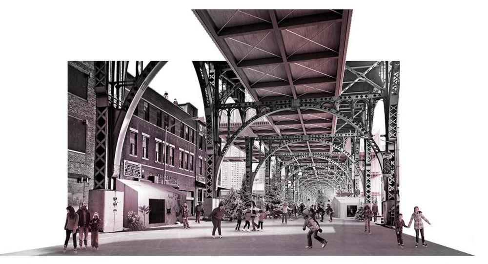 Recuperación y Reactivación del Viaducto de Riverside Drive. Proyecto finalista en el I Concurso PFC Arquitectura y Empresa