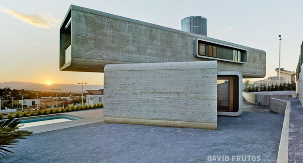 Casa cruzada clavel murcia unifamiliar - Arquitectos en murcia ...