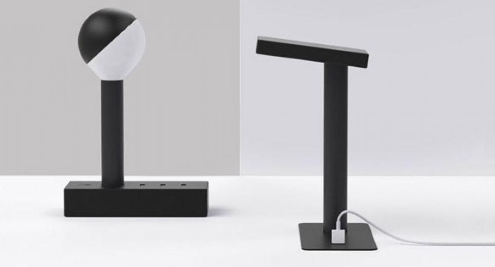 Industrial Facility presenta W152, una lámpara capaz de proporcionar energía mediante tomas USB
